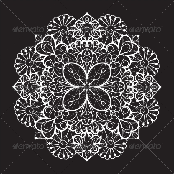 GraphicRiver Lace Background 7049364