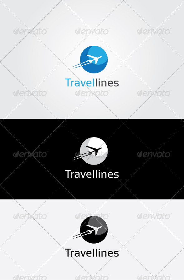 GraphicRiver Air Travel Logo 7051634