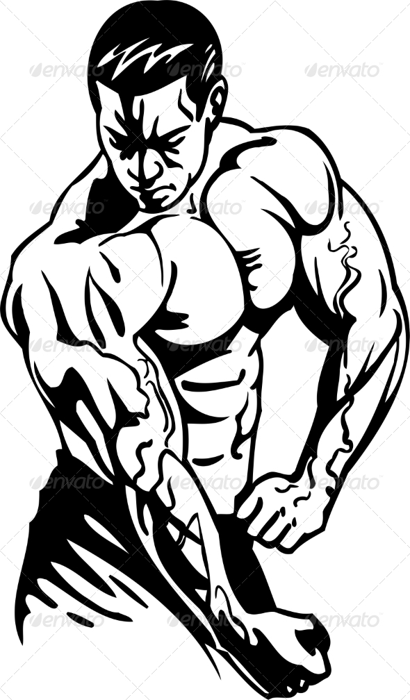GraphicRiver Bodybuilding and Powerlifting 7052489