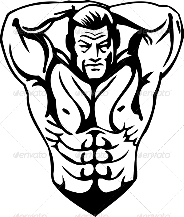 GraphicRiver Bodybuilding and Powerlifting 7052560