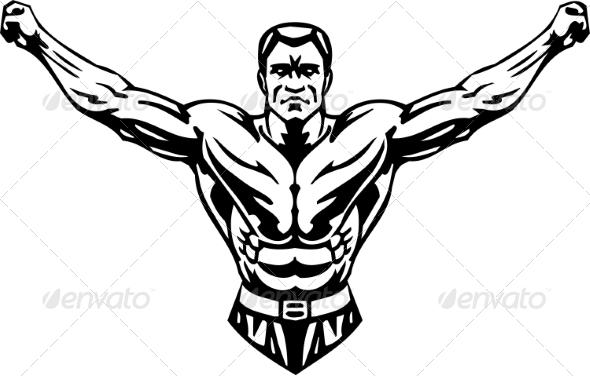 bodybuilding logos sample 187 tinkytylerorg stock photos