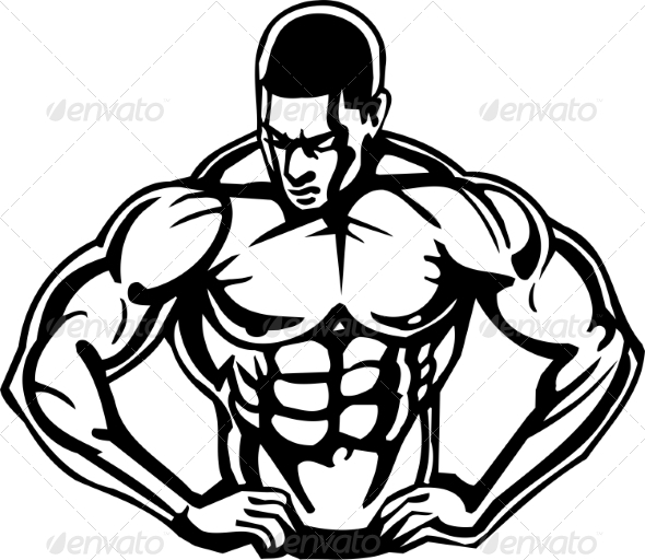 GraphicRiver Bodybuilding and Powerlifting 7052784