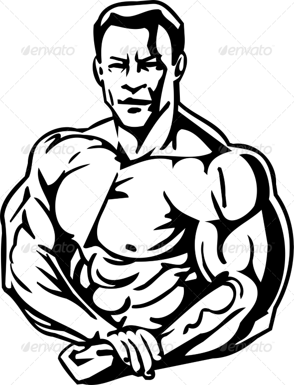 GraphicRiver Bodybuilding and Powerlifting 7052789