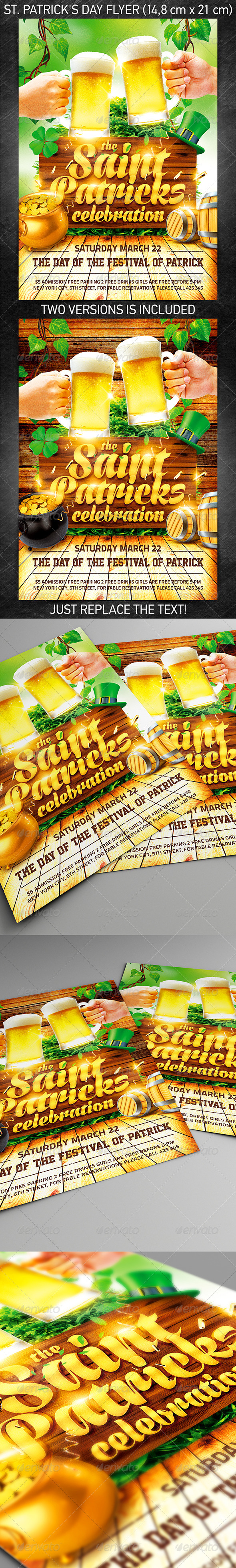 GraphicRiver St Patrick s Day Flyer Vol.4 7052940