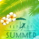 Summer Holiday Greeting - GraphicRiver Item for Sale