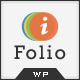 iFolio - Clean WordPress CMS Portfolio Theme - ThemeForest Item for Sale