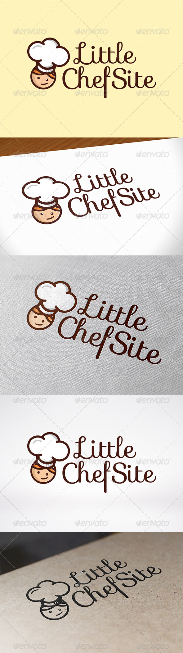 GraphicRiver Chef Logo Template 7055196