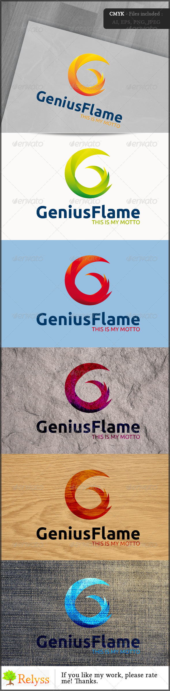 GraphicRiver GeniusFlame 7055247
