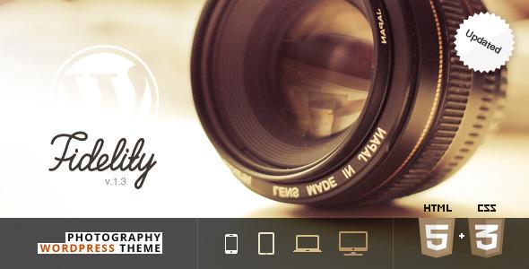 Fidelity - Premium Photography WordPress Theme - Photography Creative