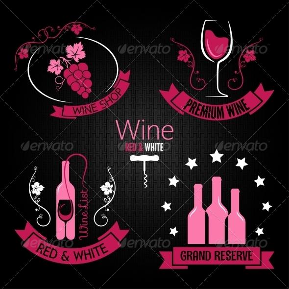 GraphicRiver Wine Labels 7055558