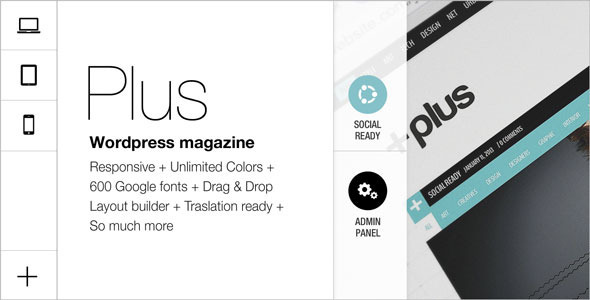 Plus Grid Responsive Multipurpose Magazine  - Blog / Magazine WordPress