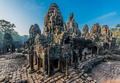 prasat bayon temple angkor thom cambodia - PhotoDune Item for Sale