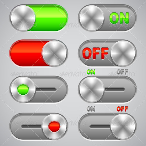 GraphicRiver On and Off Switches 7056761