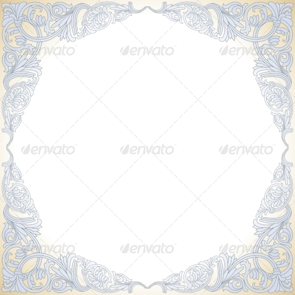 GraphicRiver Frame with Baroque Ornaments 7057068