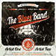 Indie Rock - Blues - Jazz  Vintage Flyer / Poster  - GraphicRiver Item for Sale