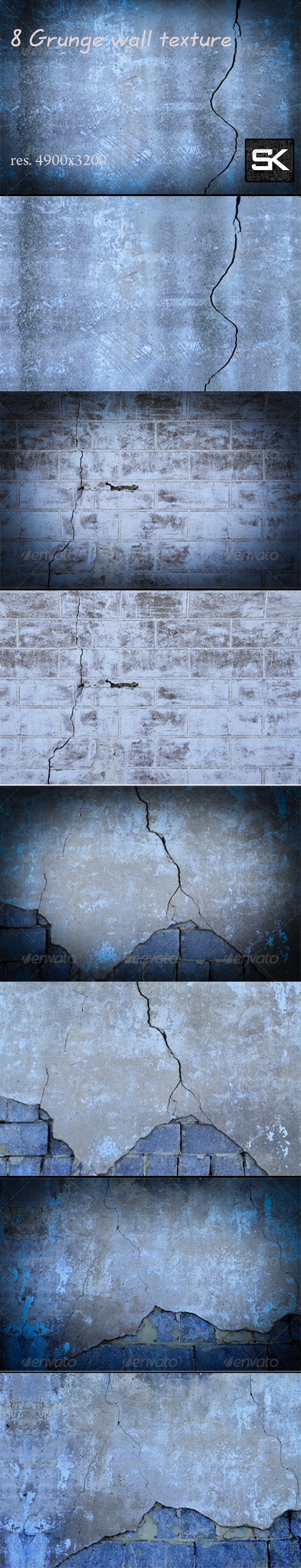GraphicRiver Grunge wall texture 7058103