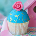 Vintage rose cupcake - PhotoDune Item for Sale