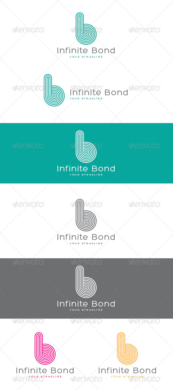 GraphicRiver Infinite Bond Letter B Logo 7059631