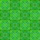 Green squares with ornament. seamless - PhotoDune Item for Sale