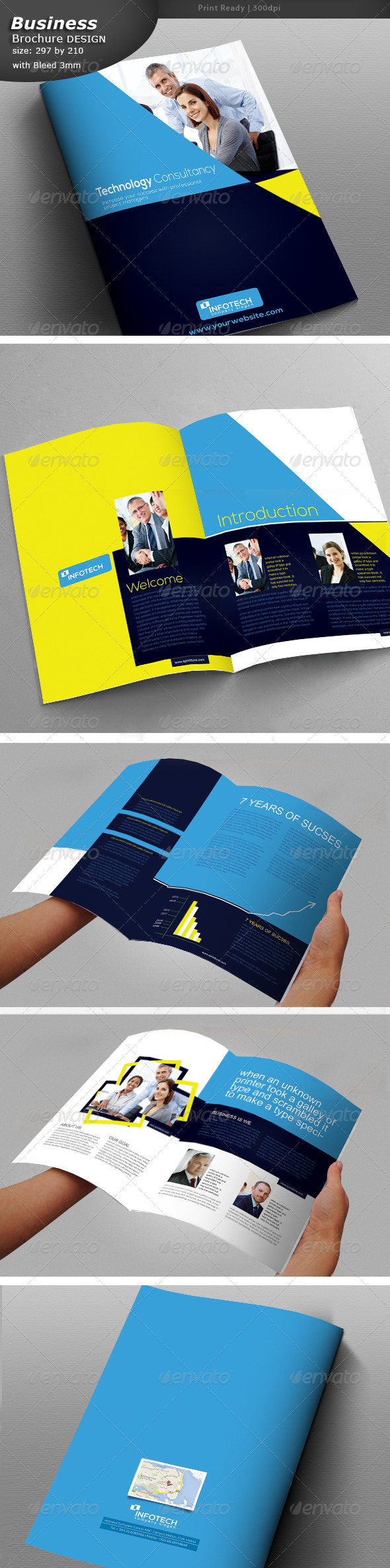 GraphicRiver Business Brochure 8 Pages 7060766