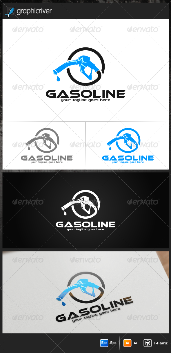 GraphicRiver Gasoline Logo Templates 7060916