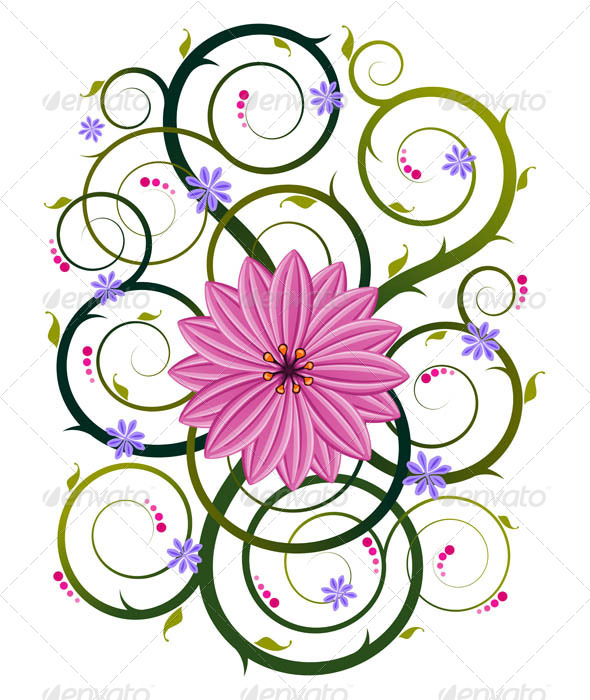 GraphicRiver Floral Ornament 7061226