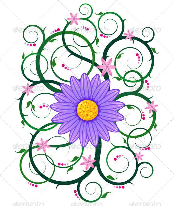 GraphicRiver Floral Ornament 7061230