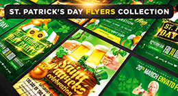 Saint Patricks Day Flyers Collection