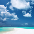 Beautiful beach with sandspit at Maldives - PhotoDune Item for Sale