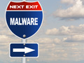 Malware road sign  - PhotoDune Item for Sale