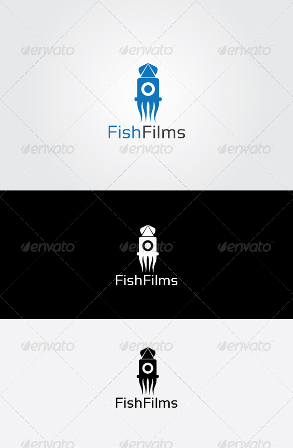 GraphicRiver Fish Studio Logo 7064065
