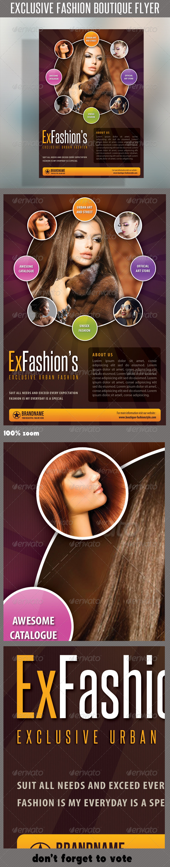 GraphicRiver Fashion Product Flyer 41 7053022