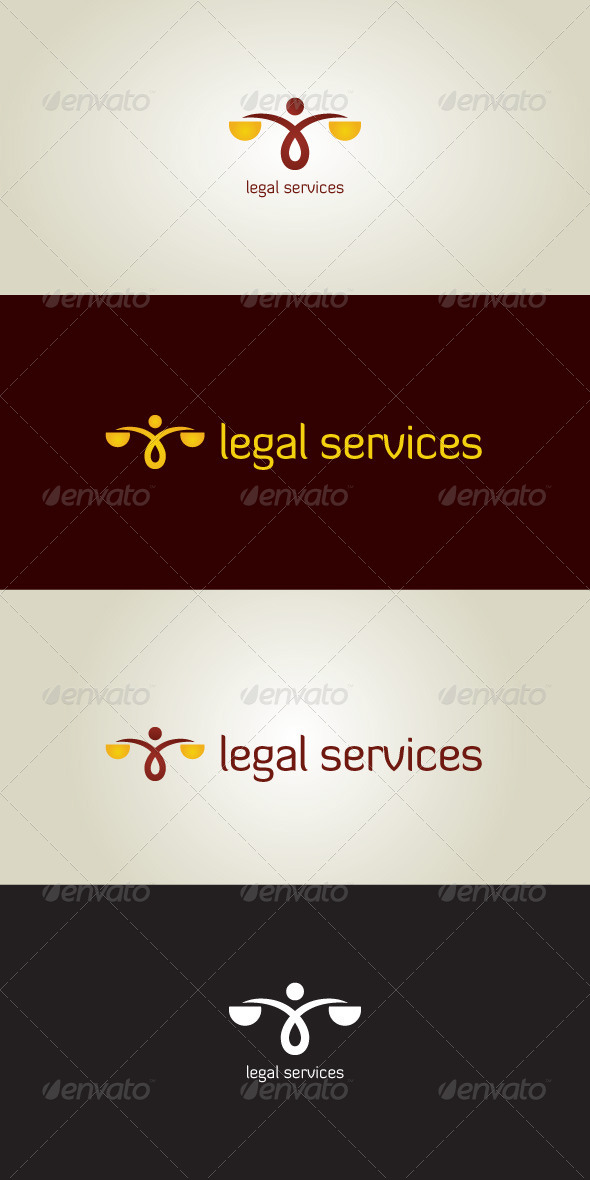 GraphicRiver Legal Services Stock Logo Template 7066035