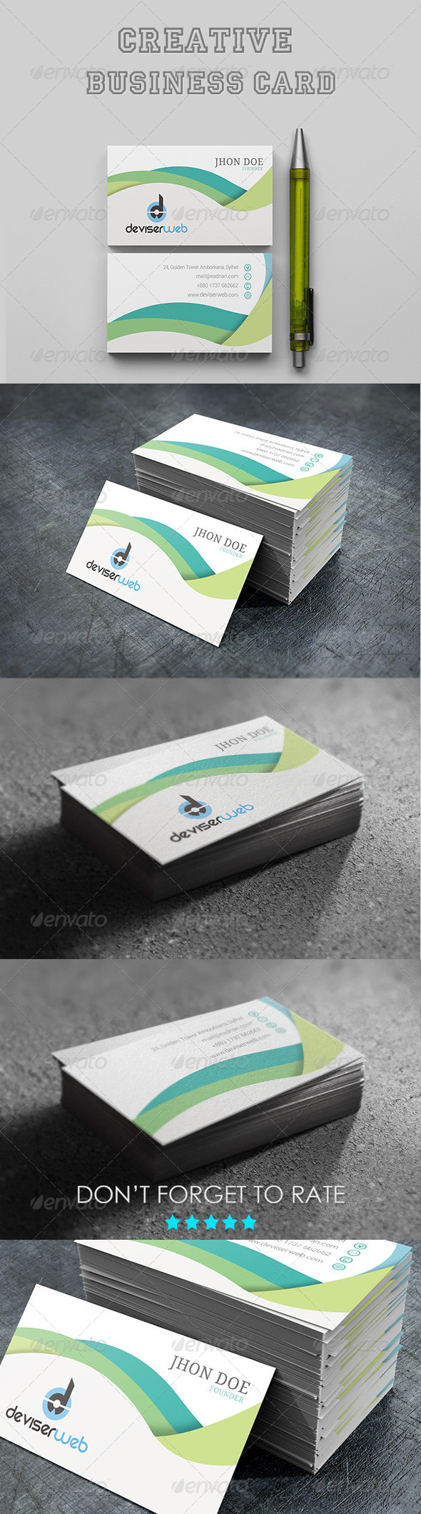GraphicRiver Creative Business Card 7066342