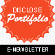 Portifolio E-Newsletter Template - GraphicRiver Item for Sale