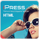 iPress - Responsive News/Magazine/Blog HTML5 - ThemeForest Item for Sale