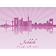 Jeddah Skyline - GraphicRiver Item for Sale