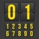 Countdown Timer Mechanical Scoreboard - GraphicRiver Item for Sale