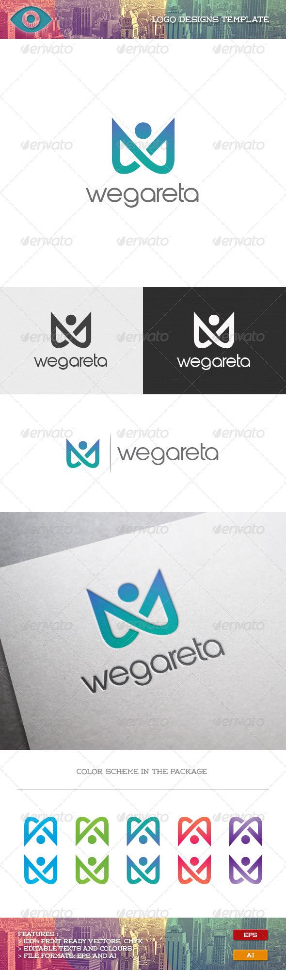 GraphicRiver Wegareta Logo 7068297