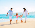 Family on tropical beach - PhotoDune Item for Sale