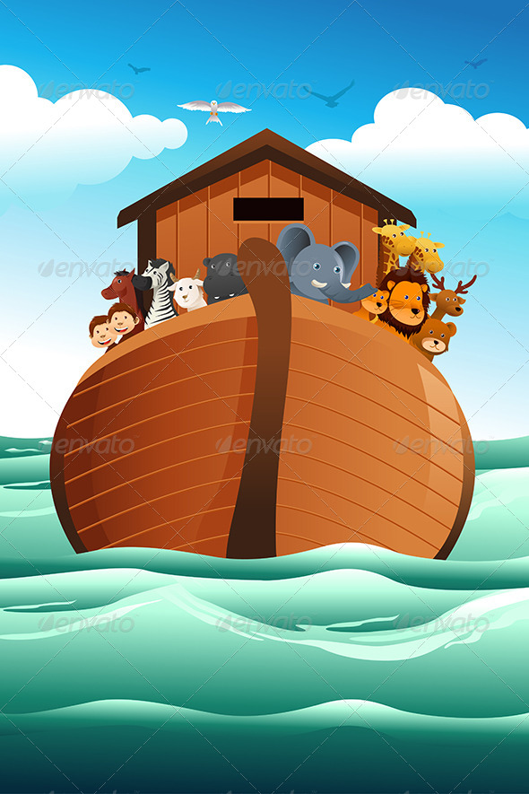 GraphicRiver Noahs Ark 7069524