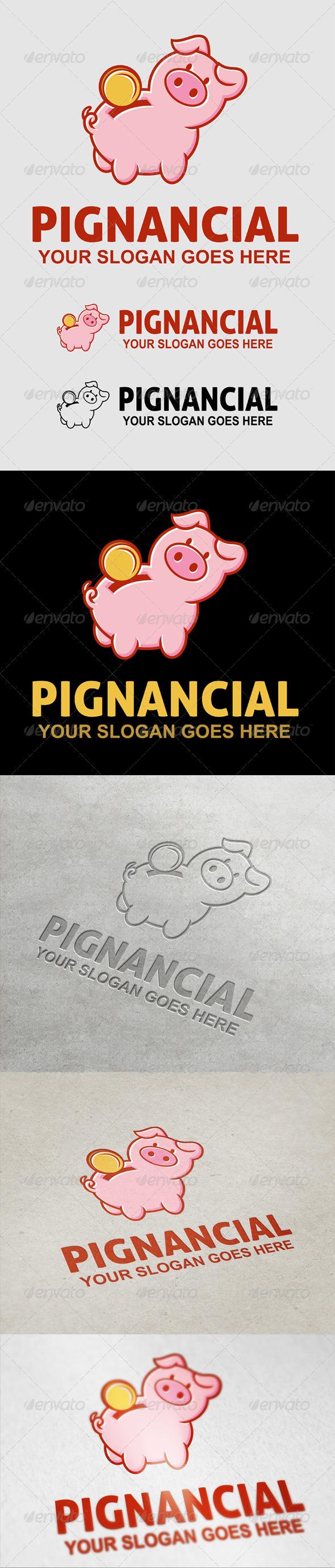 GraphicRiver Pignancial Logo 7069560