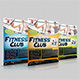 Fitness Club Flyer - GraphicRiver Item for Sale
