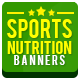 Sports Nutrition Banners - GraphicRiver Item for Sale