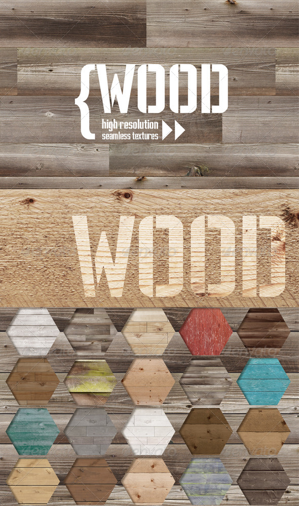 GraphicRiver Wood Texture Pack 7066317