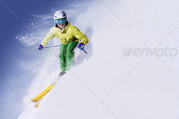 skier - PhotoDune Item for Sale