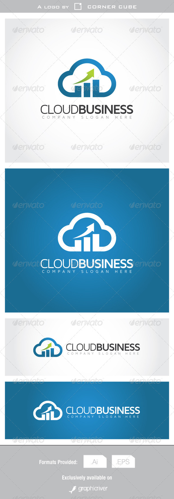 GraphicRiver Cloud Business Logo 7078429