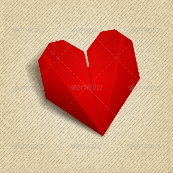 GraphicRiver Paper Heart 7078836