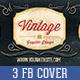 3 Facebook Retro Vintage Timeline Cover - GraphicRiver Item for Sale