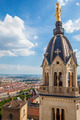 from the top of Notre Dame de Fourviere basilica - PhotoDune Item for Sale